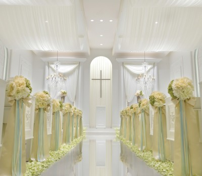 アーフェリーク迎賓館/アーフェリークゲイヒンカン:写真2:感動的な純白のチャペルは必見。