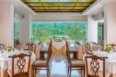 迎賓館サクラヒルズ川上別荘/ゲイヒンカンサクラヒルズカワカミベッソウ:写真6:少人数や家族でのお食事会にも◎