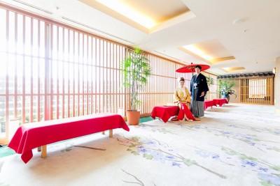 ホテル グランヴェール/ホテルグランヴェール:写真9:和婚にオススメの和のフロア