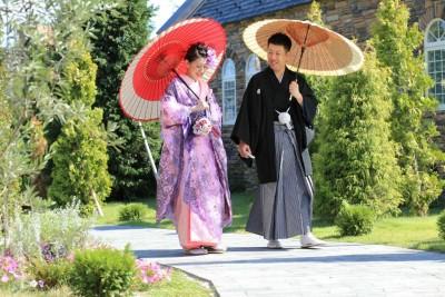 ザ グランフレ ハウス/グランフレハウス:写真9:和装での前撮りも人気!