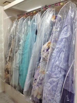 咲楽結婚Naviカウンター/サクラケッコンナビカウンター:写真3:カラードレス(寒色系)