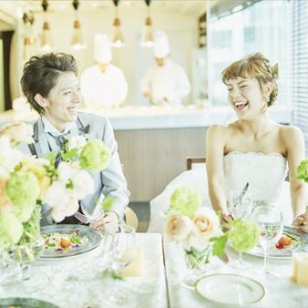 ル・タンブル:写真2:家族婚、披露パーティ、二次会まで