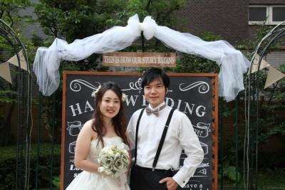 ホテル名古屋ガーデンパレス/ホテルナゴヤガーデンパレス:写真4:チョークボードはフォトスポットにもなって人気!