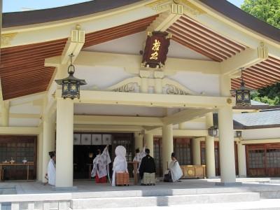 愛知縣護國神社本殿/アイチケンゴコクジンジャホンデン:写真4