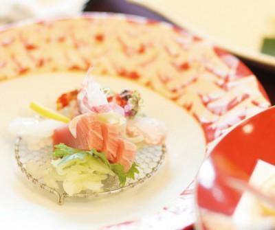 賀城園/ガジョウエン:写真3:味はもちろん、目でも楽しめる会席料理でゲスト皆様へおもてなし。