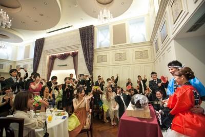 覚王山ル・アンジェ教会/カクオウザンルアンジェキョウカイ:写真5:マグロ入刀演出