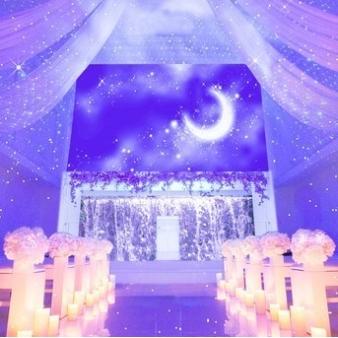 Celebration! STELLA(旧エルハウス・ナゴヤ)/セレブレーション! ステラ:写真5:「星空のチャペル」