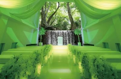 THE L HOUSE NAGOYA/エルハウスナゴヤ:写真1:選べる3テーマのチャペルがGRAND OPEN!「森のチャペル」