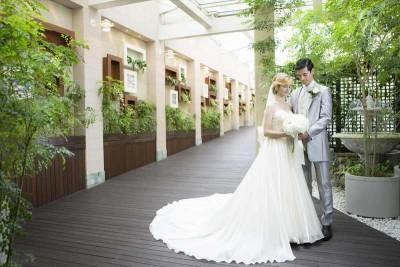 名古屋東急ホテル/ナゴヤトウキュウホテル:写真4:名古屋東急ホテル・チャペルガーデン